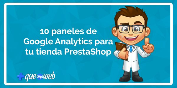 paneles google analytics para tienda online