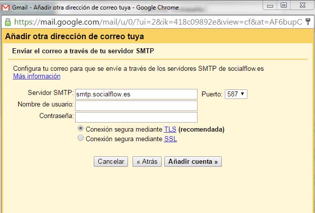 vincular dominio a gmail