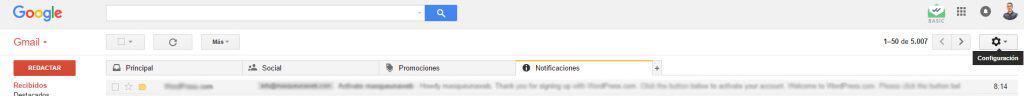 cuentas gmail vincular